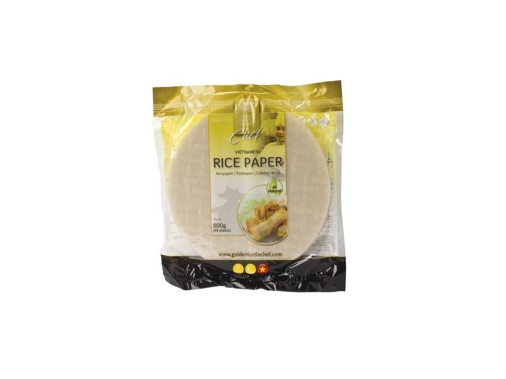 Rýžový papír kulatý Golden Turtle Chef 500 g