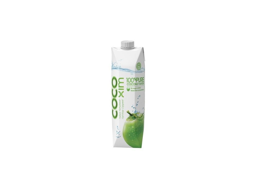 Kokosová voda 100 % pure 1 l