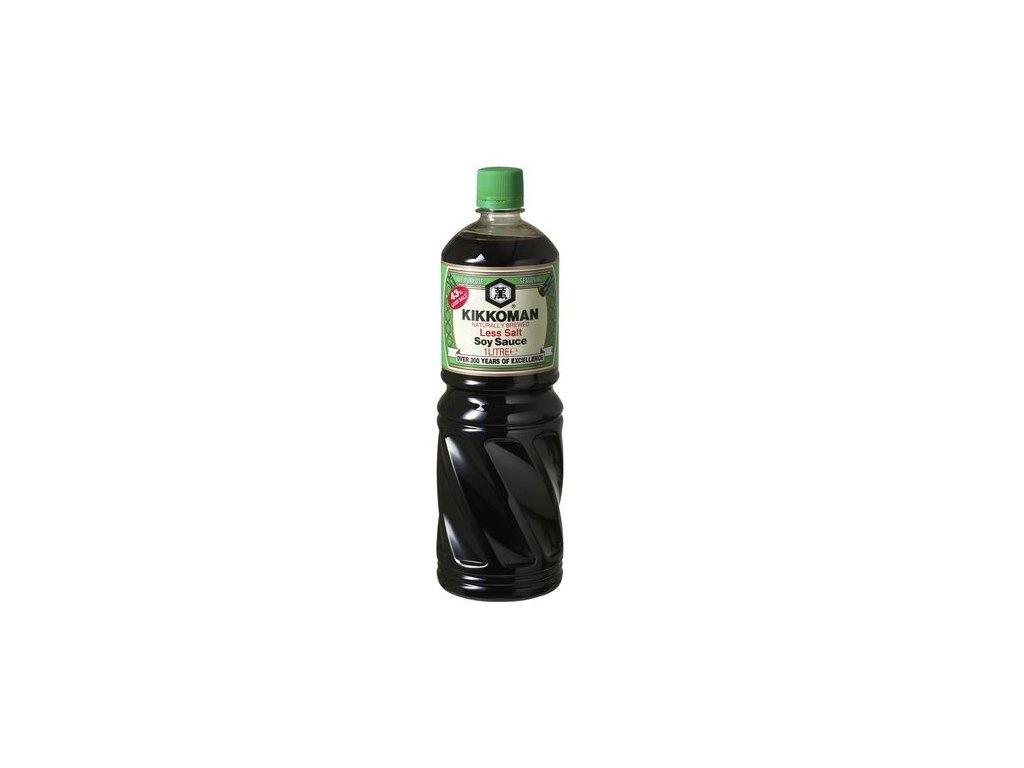 Kikkoman sójová omáčka (méně soli) 1 l