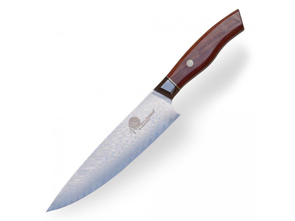 """Nůž šéfkuchaře Chef 8"""" (205 mm) Dellinger TOIVO - Professional Damascus"""