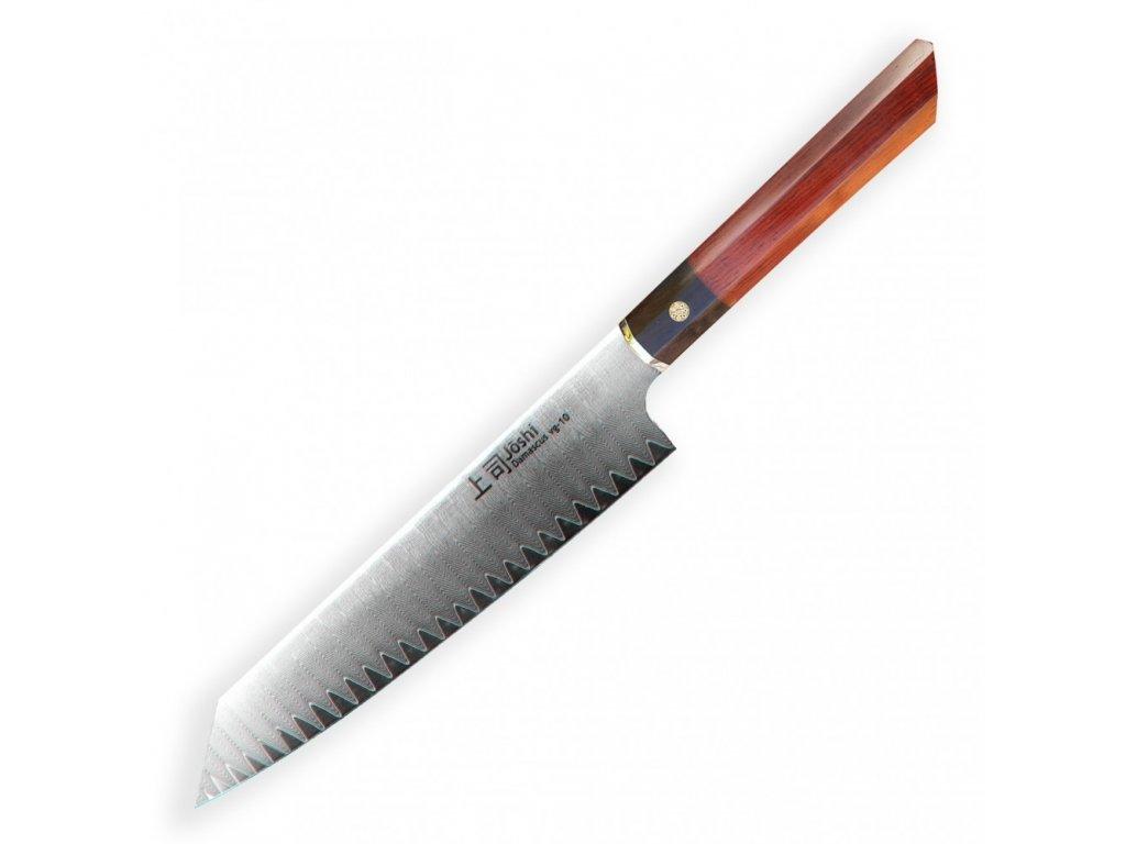 "Kiritsuke / Chef 8"" (205 mm) Dellinger JOSHI- Professional Damascus"
