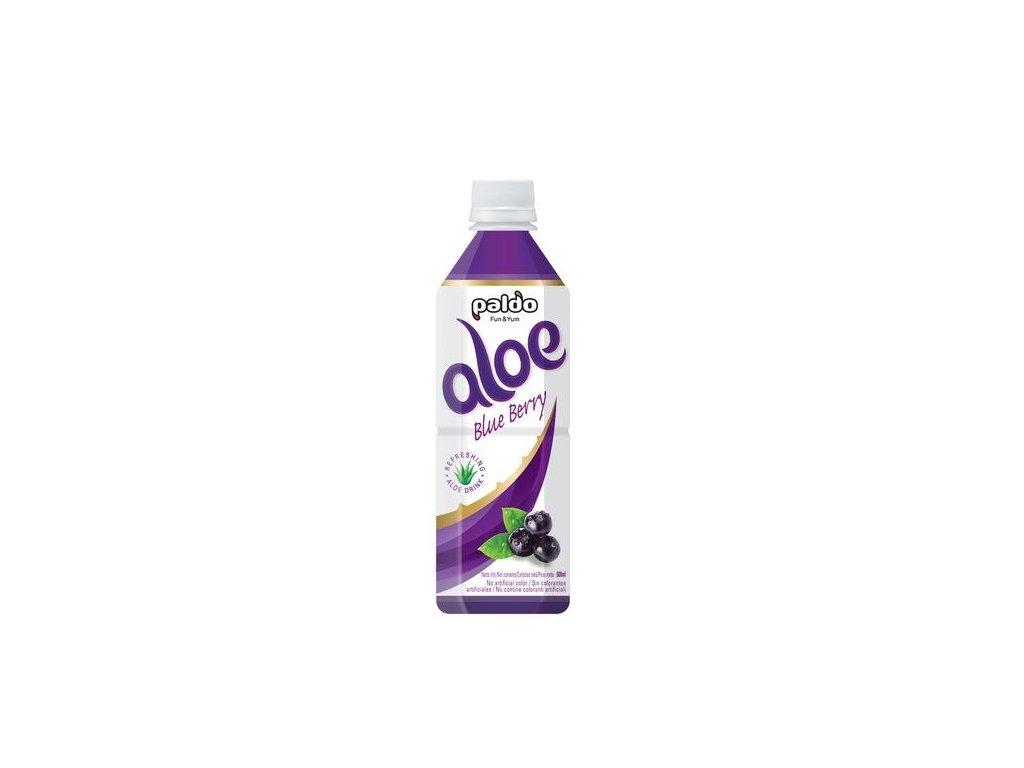 Aloe Vera nápoj s příchutí borůvek 500 ml