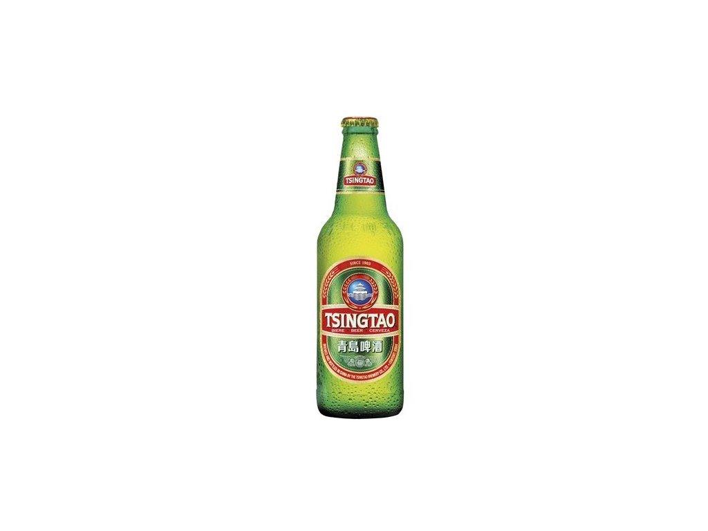 Čínské pivo Tsingtao 330 ml
