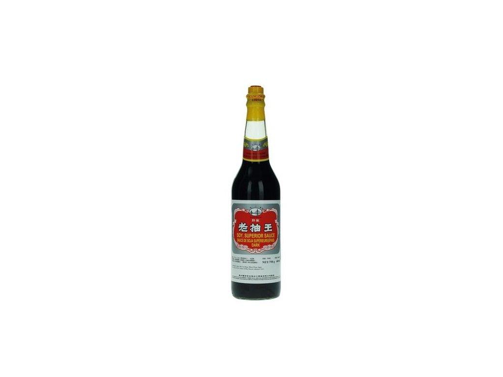 Sójová omáčka černá Superior 600 ml
