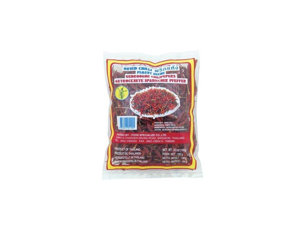 Sušené chilli 100 g