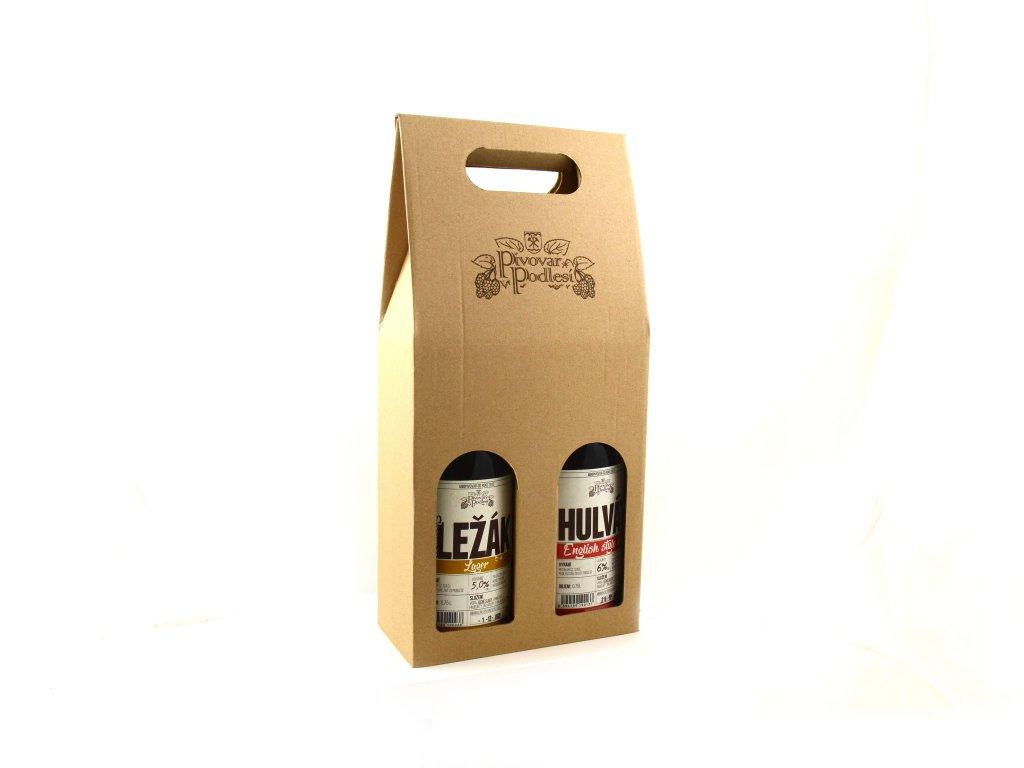 Dárkový set řemeslných piv 2  (podporujeme české řemeslné výrobky)
