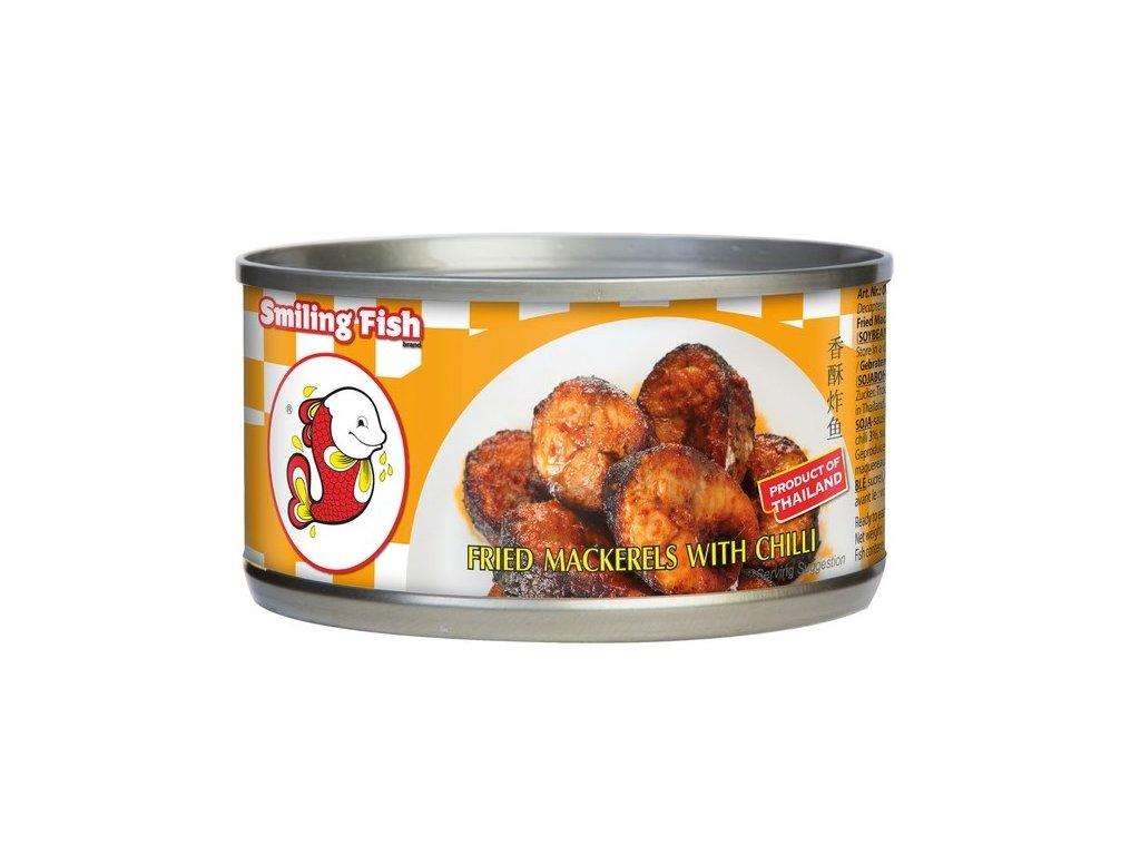 Smažená makrela s chilli 90 g