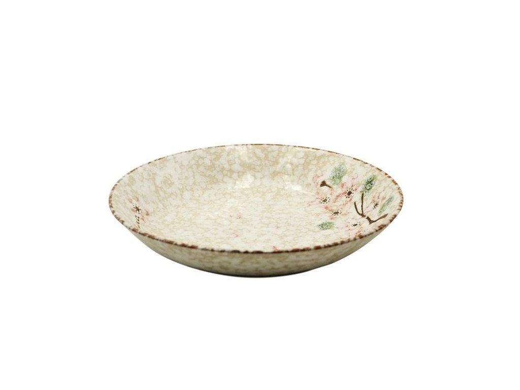 Keramický talíř Snow 21 cm