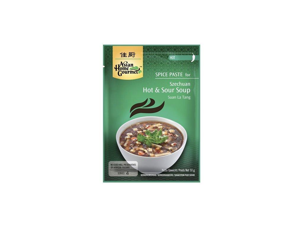 Ostrokyselá sečuánská polévka pasta 50 g