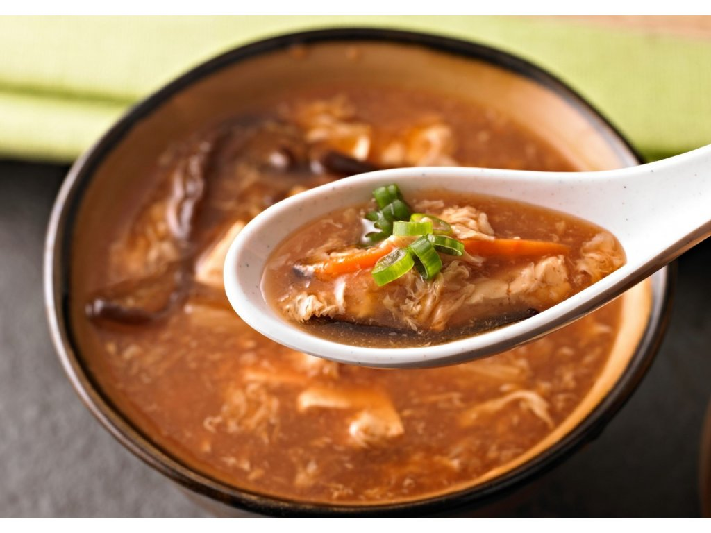 ostrokyselá polévka