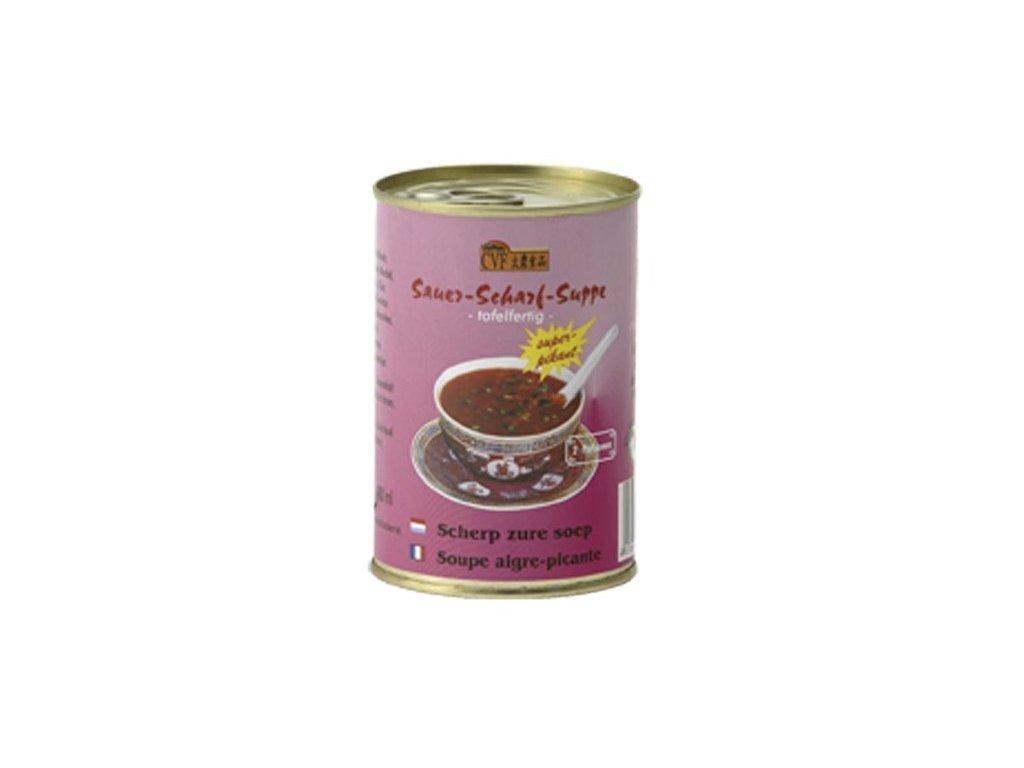 Čínská ostrokyselá polévka (extra hot) 400 ml