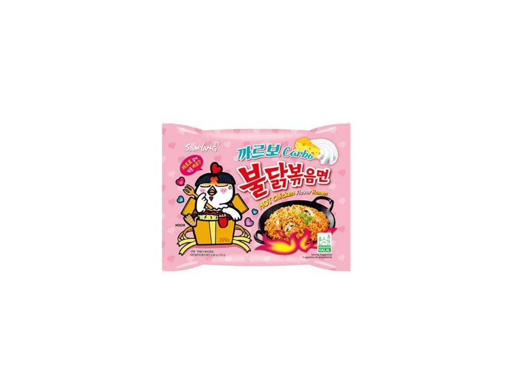 Instantní nudle Samyang hot chicken carbo 130 g