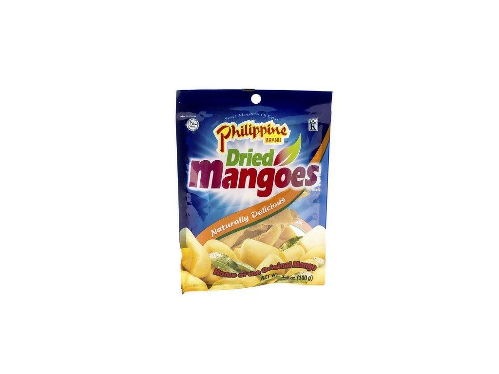 Philippine Brand sušené proslazené mango 100 g