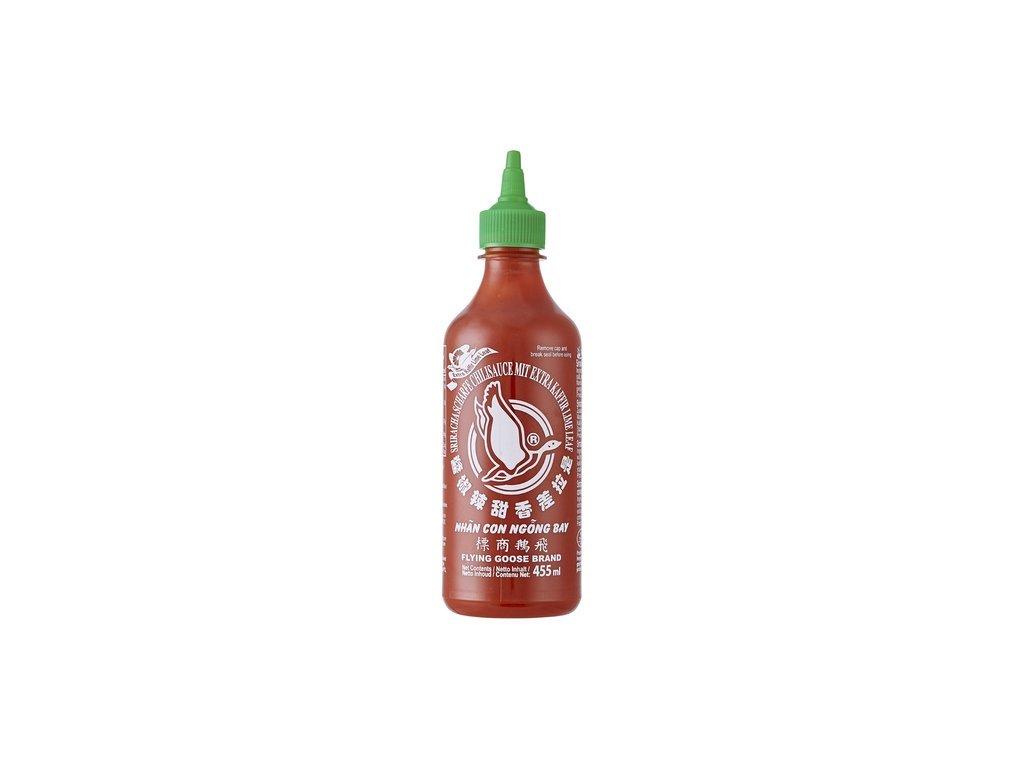 Sriracha chilli omáčka  Kaffir Lime 455 ml
