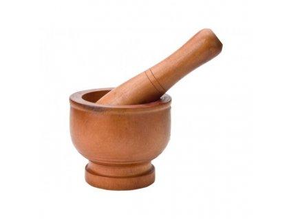 Hmoždíř dřevěný s tloučkem