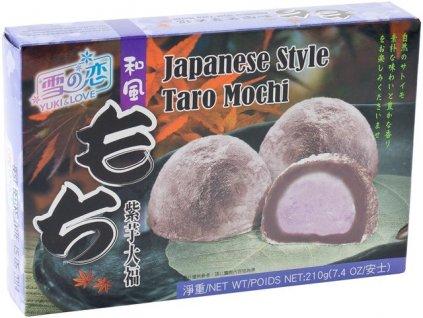 Japonské koláčky Mochi s taro náplní 210g