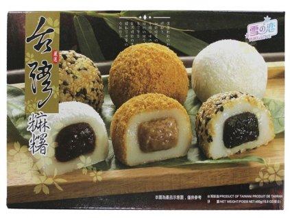 Japonské koláčky Mochi s náplní 450g