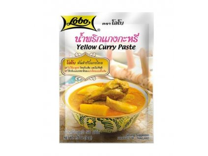 Lobo kari pasta žlutá 50 g