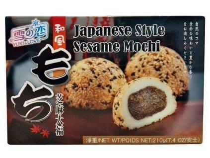 Japonské Mochi sezamové 210 g