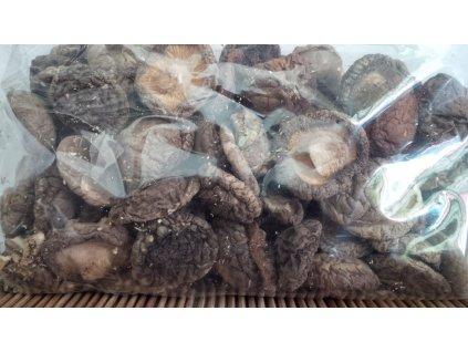 Houby Shiitake celé sušené 100 g
