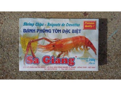 Krevetové lupínky s chilli 200 g