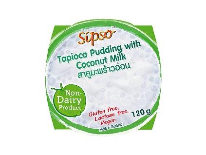 tapiokovy punding s mlekem