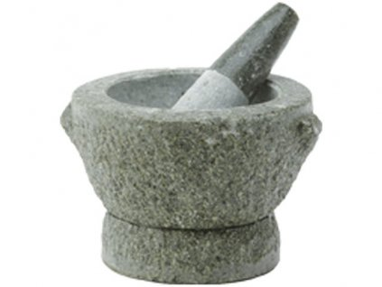 Hmoždíř žulový přírodní kámen 13,5 cm