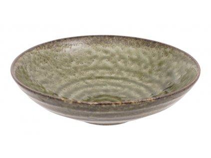 15387 Green Oribe Shallow Dish