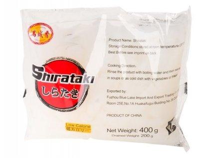 "Shirataki nudle ""broad"" (rovný tvar) - 400 g"