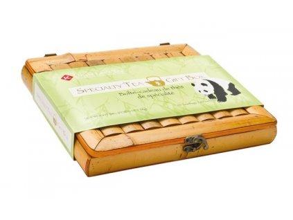 Dárkový set - 60 ks čajů - krabice z bambusu