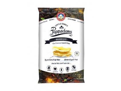 Poppadoms - lupínky z čočky (Barbeque) 50 g
