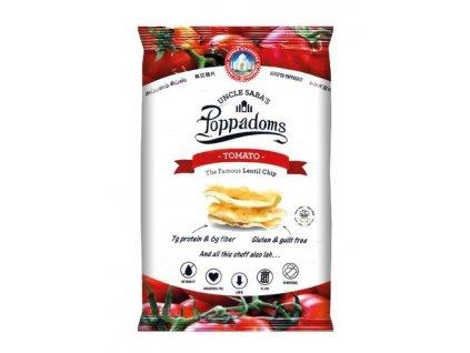 Poppadoms - lupínky z čočky (Tomato) 50 g