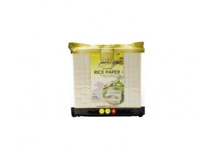 Rýžový papír čtvercový Golden Turtle Chef 500 g