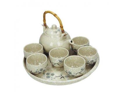 """Japonský set na čaj """"snowflake"""""""