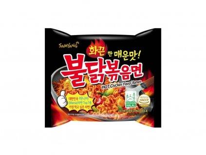 Instantní nudle Samyang s příchutí pálivého kuřete 140 g