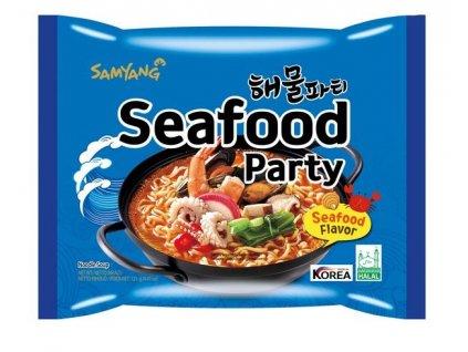 Instantní nudle Samyang s příchutí mořských plodů 125 g