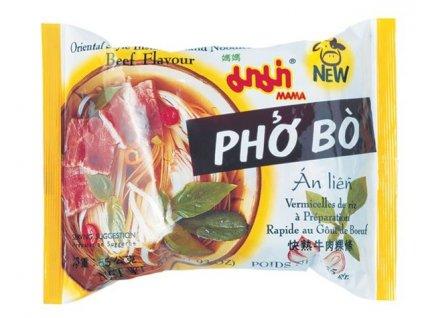 Instantní rýžové nudle Pho Bo 55 g