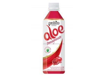 Aloe Vera nápoj s příchutí granátového jablka 500 ml