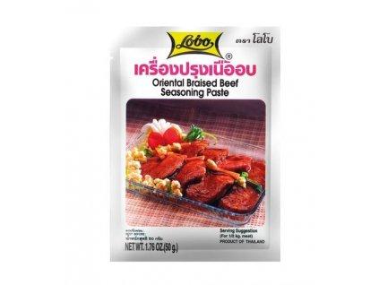 Orientální dušené hovězí - pasta 50 g