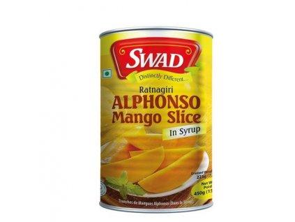 Alphonso mango v sirupu 450 g