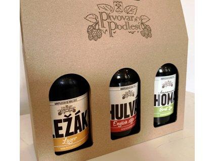 Dárkový set řemeslných piv 1
