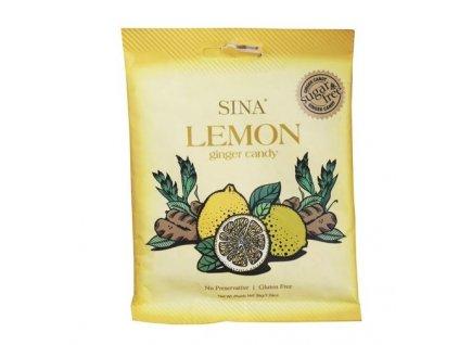 Žvýkací zázvorový bonbón s příchutí citronu 36 g