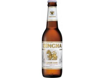 Pivo Singha 5 % alkoholu 330 ml