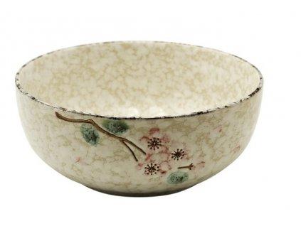 Keramická miska Snow na polévku 21 cm