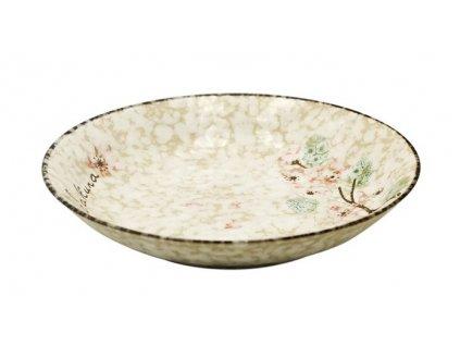 Keramický talíř Snow 18,8 cm