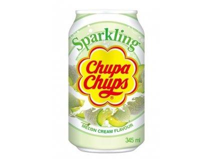 Chupa Chups perlivý nápoj s příchutí melounu se smetanou 345 ml