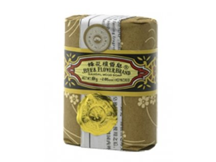 Mýdlo santalové dřevo 80 g