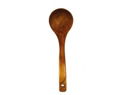 Dřevěná lžíce na polévku