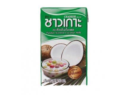 Kokosové mléko s pandanem 250 ml