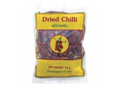Sušené chilli papričky velké 75 g